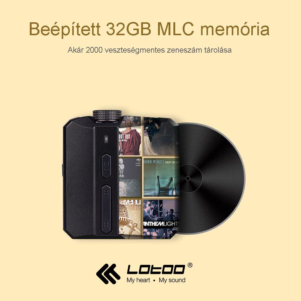 Lotoo Paw Pico - memória